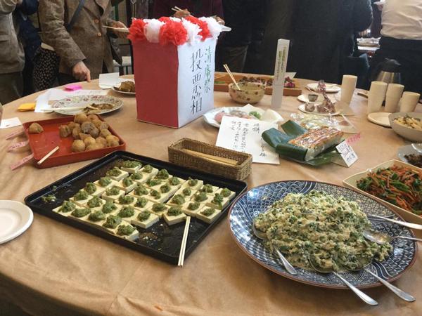 清庵祭り料理