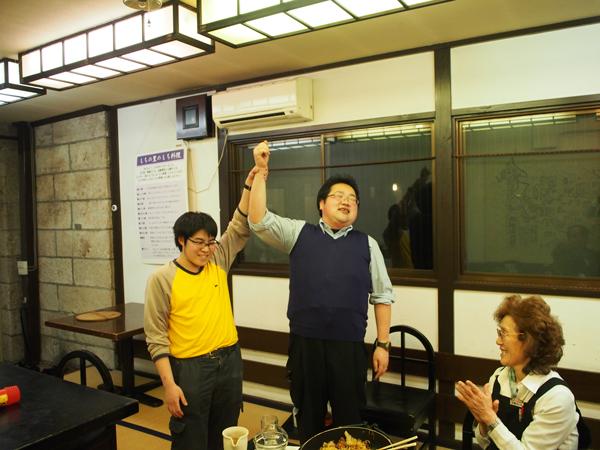新入生歓迎会チャンピオン